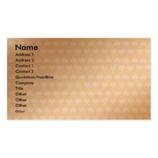 Coração dourado: Disjuntor Visio da etiqueta do Cartão De Visita