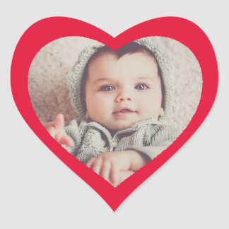 Coração engraçado bonito feito sob encomenda adesivo coração