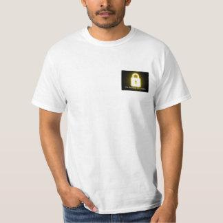 Coração fechado camiseta