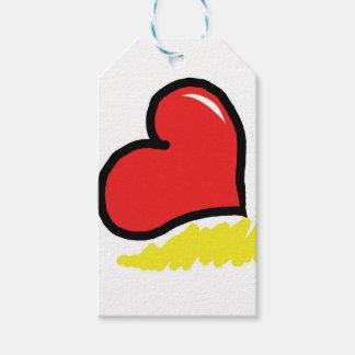 coração feliz vermelho
