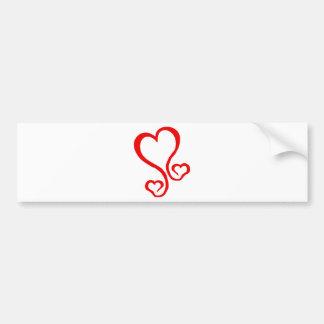 coração-grafit adesivo