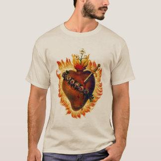Coração imaculado da camisa de Mary