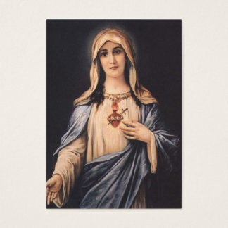 Coração imaculado do coração de Mary Cartão De Visitas