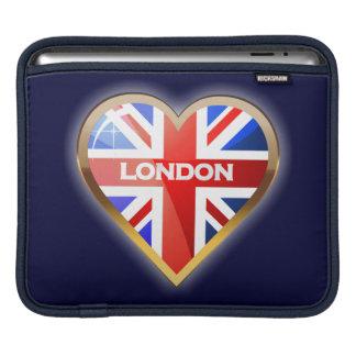 Coração inglês bolsa de iPad