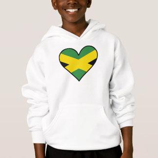 Coração jamaicano da bandeira