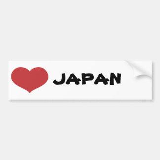 Coração Japão Adesivo Para Carro