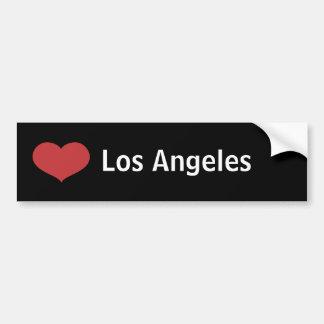 Coração Los Angeles Adesivo Para Carro