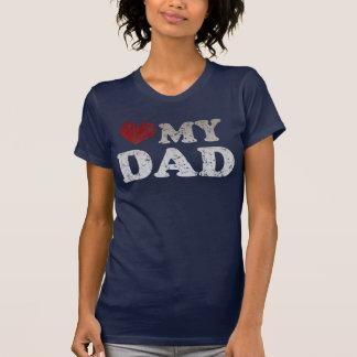 Coração meu pai tshirts