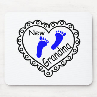 Coração novo do bebé da avó mousepads