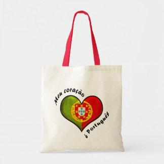 Coração português bolsa tote