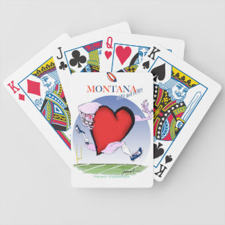 coração principal de montana, fernandes tony baralhos para pôquer