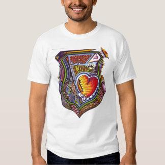 Coração prometido! t-shirt