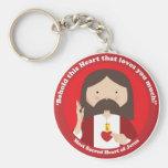 Coração sagrado de Jesus Chaveiro