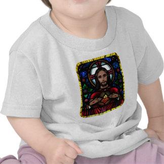 CORAÇÃO SAGRADO DE PRODUTOS CUSTOMIZÁVEIS DE JESUS CAMISETAS