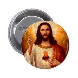 Coração sagrado religioso bonito da imagem de Jesu Botons
