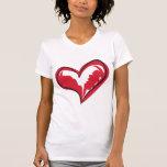 Coração simples tshirt
