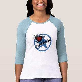 Coração Venezuela Camiseta