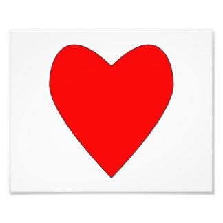 coração vermelho entusiasta arte de fotos