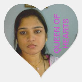 corações agradáveis adesivo coração