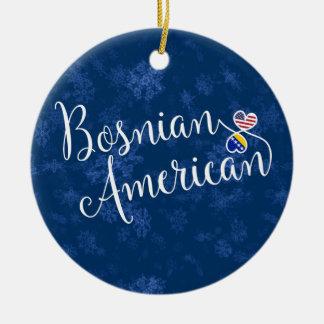 Corações americanos bosnianos, ornamento da árvore