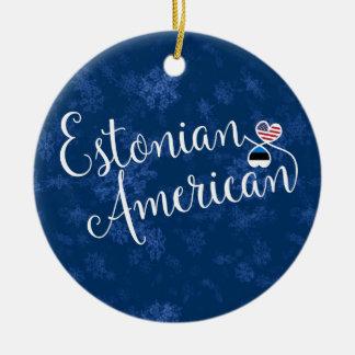 Corações americanos estónios, ornamento da árvore