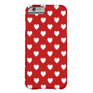 Corações Capa Barely There Para iPhone 6