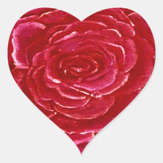 Corações da etiqueta cor-de-rosa