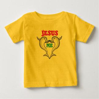 Corações de Jesus mim criança Tshirt