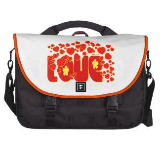 Corações do amor - 13:34 de John Bolsa Para Laptop