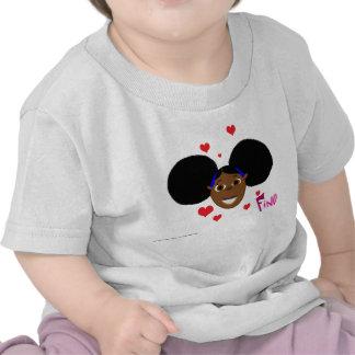 Corações do amor de Fino Tshirts