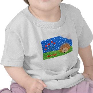 Corações do ouriço! camiseta