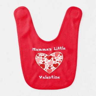 Corações dos Babador-Namorados do bebê Babadores Para Bebes