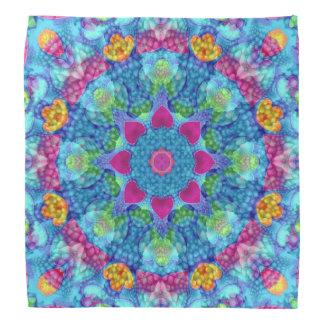 Corações Hankerchief colorido, Bandana de lenço
