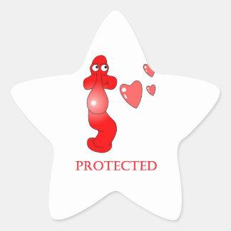 Corações protegidos preservativo de Johnny Adesito Estrela
