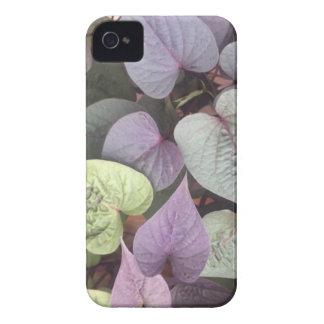 corações roxos capa para iPhone
