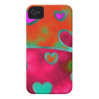 Corações selvagens!! capa para iPhone