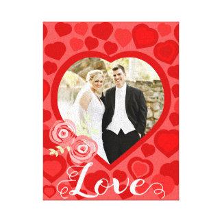 Corações vermelhos amor modelado