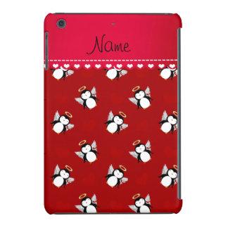 Corações vermelhos conhecidos personalizados do capa para iPad mini retina
