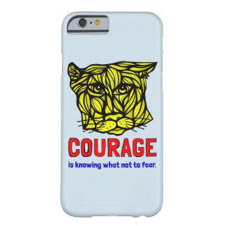 """""""Coragem em saber que para não temer"""" a capa de"""