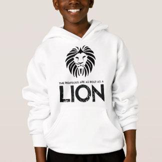 Corajoso como uma camisola do cristão do leão