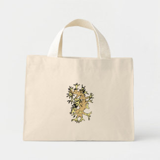 Coral amarelo bolsas para compras