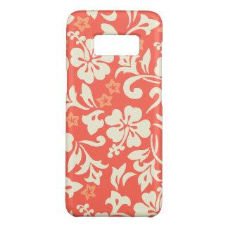 Coral havaiano do hibiscus de Kapalua Pareau Capa Case-Mate Samsung Galaxy S8