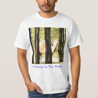 Corcunda nas madeiras camiseta