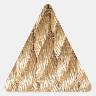 Corda Adesivo Em Forma De Triângulo