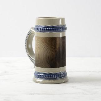 Corda de fio /Blue cinzento caneca de cerveja de