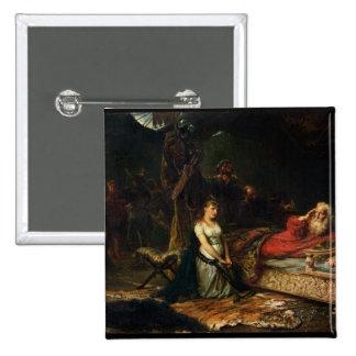 Cordelia e rei Lear (óleo em canvas) Pins