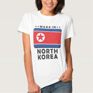 Coreia do Norte feita Tshirts