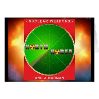 Coreia do Norte nuclear Cartão Comemorativo