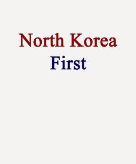 Coreia do Norte primeiramente