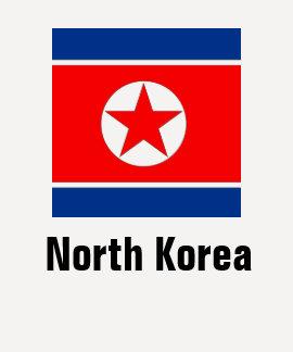 Coreia do Norte T-shirt